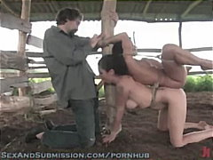 domination, submission, rough-sex, flogger, bondage, flogging, spank, hardcore, sexandsubmission.com, orgasm, bdsm, outdoors, public-sex