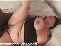 fat, bbw, latina, interracial, blowjob, brunette
