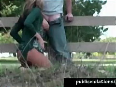 handjob, blowjob, public, outdoor,