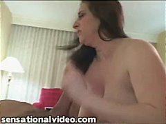 brunette, handjob, bbw, fishnet, blowjob, fat,