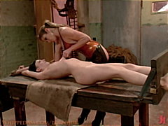 slave, girl-on-girl, bdsm, tied,