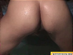 Cute amateur gets  her... video