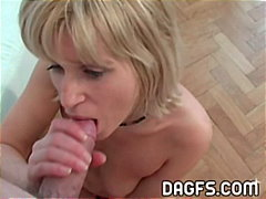 mother, cougar, blonde, deep-throat