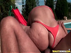 big-tits, milf, latina, outdoor, ass,