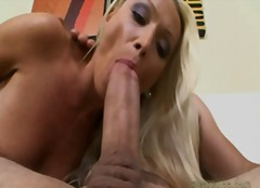 blond, mother, european, cumshot