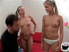 small-tits, blondes, babysitter