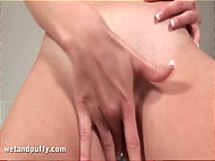 Teen Playing With Her ...