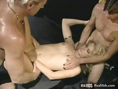 orgy, blonde, vintage, hardcore, classic
