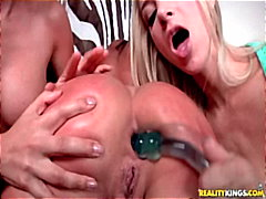 dildo, girl-on-girl, anal,