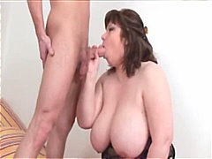 Natural busty babe get... video