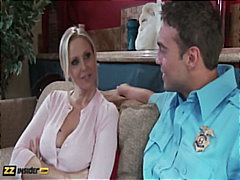 Julia Ann gets intervi... video