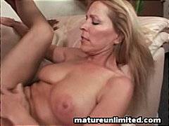 mature, cumshot, blonde, facial,