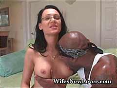 glasses, wife, cumshot, milf,