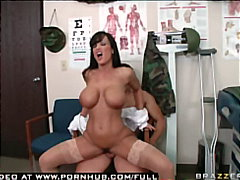 lisa ann,  nylons, cum-on-tits