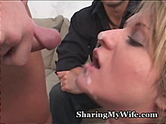 facial, blonde, reality, milf,