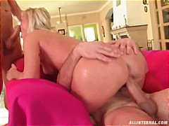 Kathy Anderson. . . The Czech Cocktease Gets A Cream Filling, Twice!