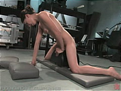 PornHub Movie:Amateur machine fucked, drippi...
