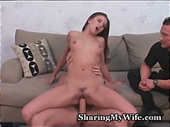 facial, blowjob, fingering, hardcore, big-dick, cumshot, brunette
