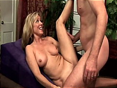 Guy creampies his wife...
