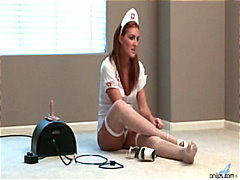 Morgan Reigns fucks the sybian and th...