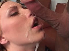 facial, face-fuck, gag, blowjob, blonde,