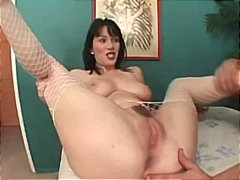 pussy-licking, blowjob, fishnet