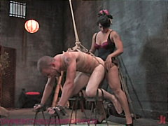 kinky, bdsm, orgasm, male, strap-on,