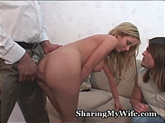 hardcore, blonde, swinger, interracial
