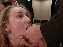 PornHub Movie:20 year old Jessie Cox is boun...