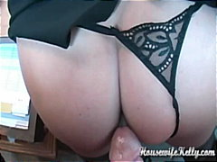 blowjob, homemade, pov, housewifekelly.com, cumshot, big-tits, babe, pussy-licking, housewife, amateur, glasses