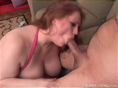 BBW Blow Job with a interesting ending
