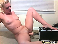 Thumb: Blonde and her Dildo F...