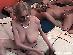BIGGEST SWINGERS ORGY  from H2porn