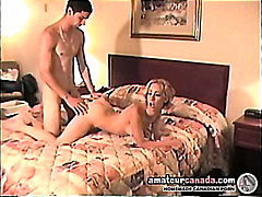 Big cock geek sex in hotel with hot girlfriend porn