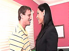 raylene busty office m...