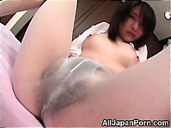 H2porn Movie:Japanese in White Pantyhose!