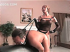 Mistress Fucks Slut-Boy