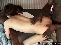 Asian Teen Banged by B... video