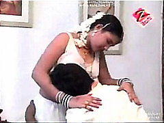 Telugu House Wife First Night Hot Bed...