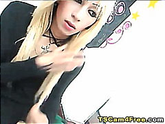 Thumb: Blonde Jap Shemale