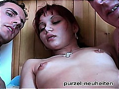 Small-Red-Haired Threesome Like Purzel