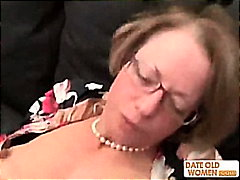 Librarian nasty granny fulfill her se...