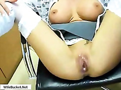 creampie, milf, stockings, gina