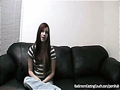 Backroom Casting Couch Babe gets laid