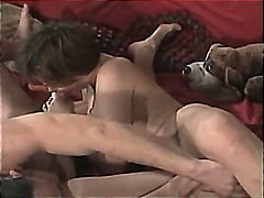 vintage, scandinavian, blowjob