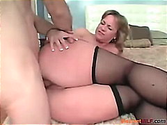 milf, anal, mother, housewife