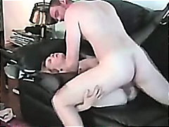 couple, wife, blowjob, amateur, mature, blonde, homemade, creampie