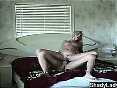 Hot married blonde cau... video