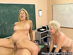 Two Mature Horny Ladie...