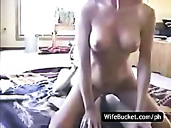 Homemade sex on the floor